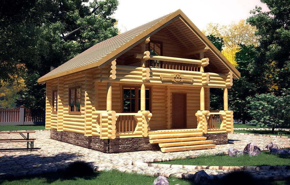 Деревянный дом из сруба проекты фото